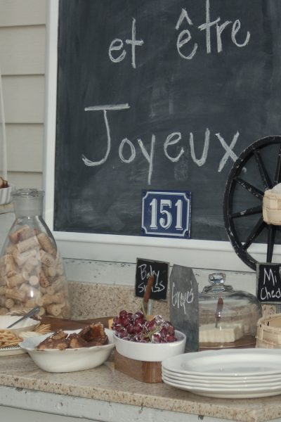 Mom's Night with A French Twist