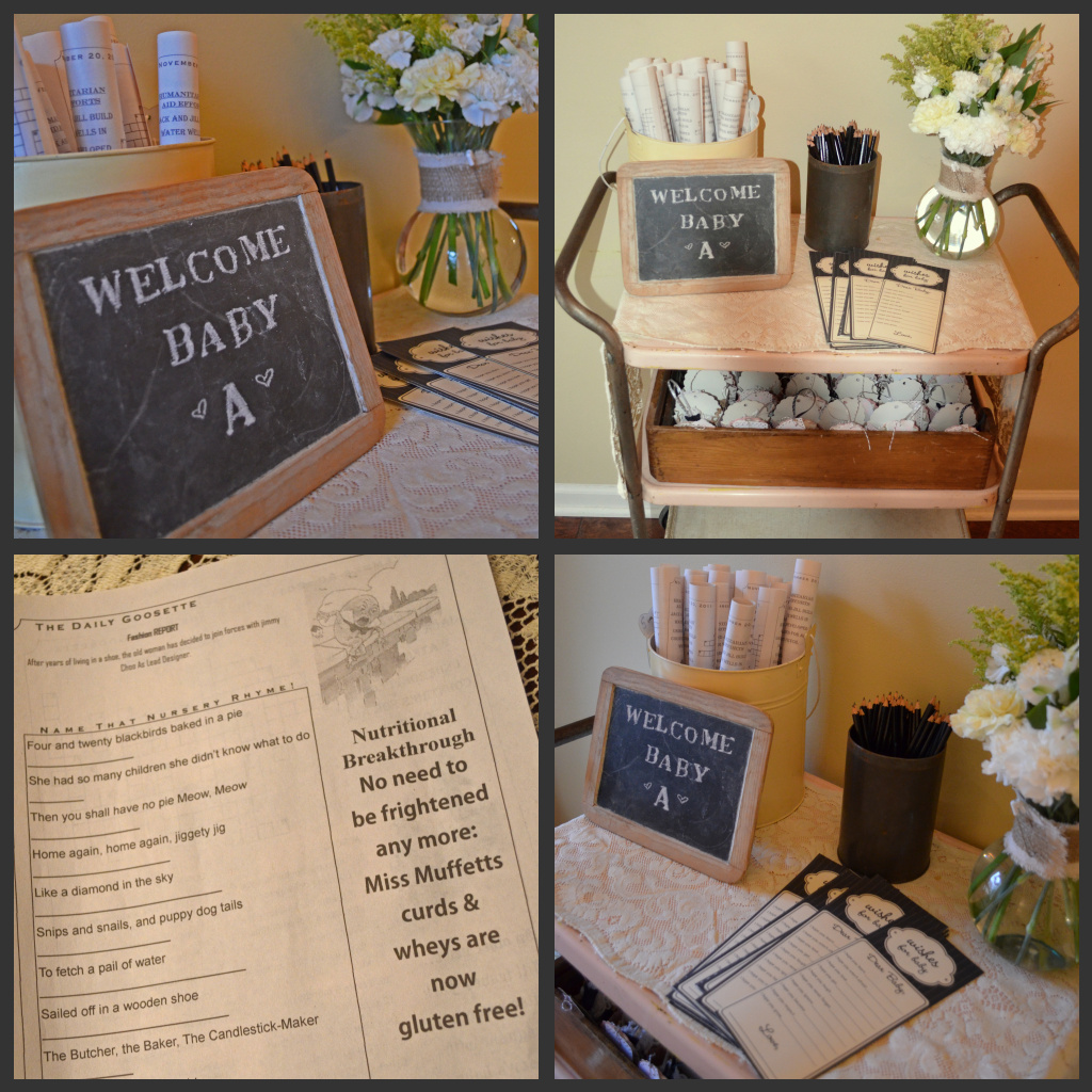 Ideas To Throw A Nursery Rhyme Baby Shower