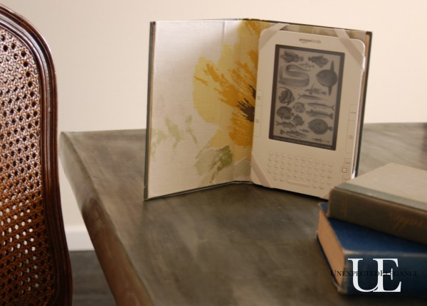 How to make an cover for your tablet using an old book for under $5.  #oldbookcraft #craft #IPadcover