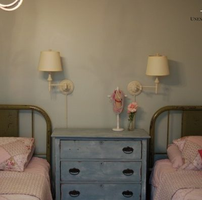 girl's room makeover {beds}