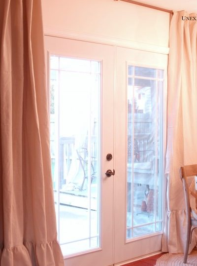 new kitchen curtains for LESS