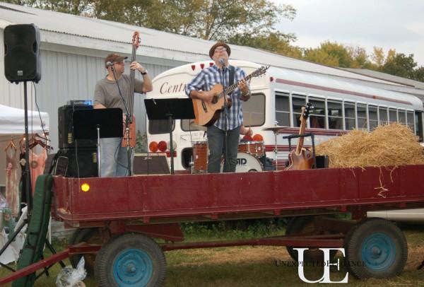 Band at Barn Sale
