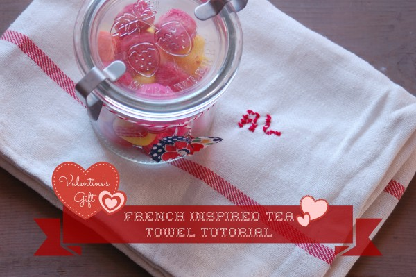 French Inspired Tea Towel Tutorial