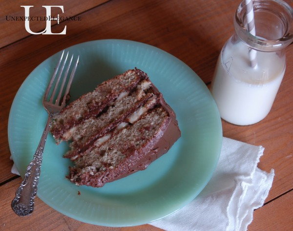 Banana Cake Recipe from Unexpected Elegance