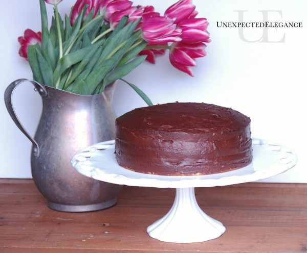 Receipe for Banana Cake at Unexpected Elegance