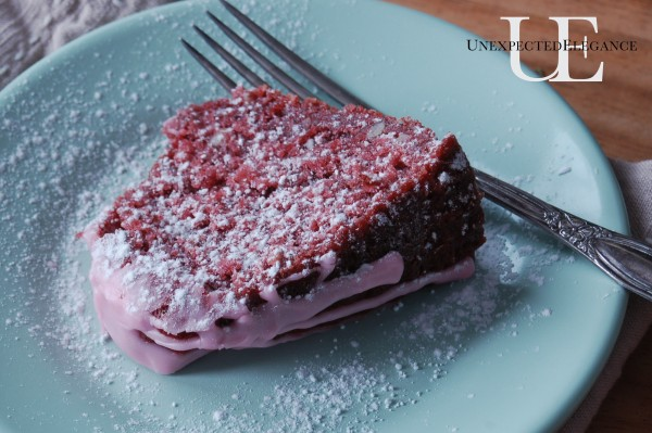 Recipe for Pinktastic Cake from Unexpected Elegnace