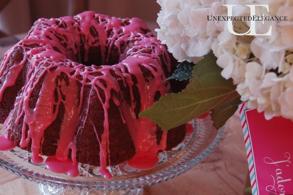 Together Cake for Valentines Day from Unexpected Elegance