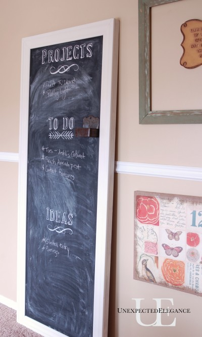 DIY Chalkboard at Unexpected Elegance