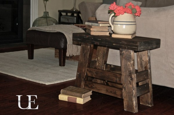 DIY Pottery Barn Inspired Stool