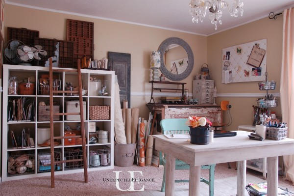 Office Makeover from Unexpected Elegance