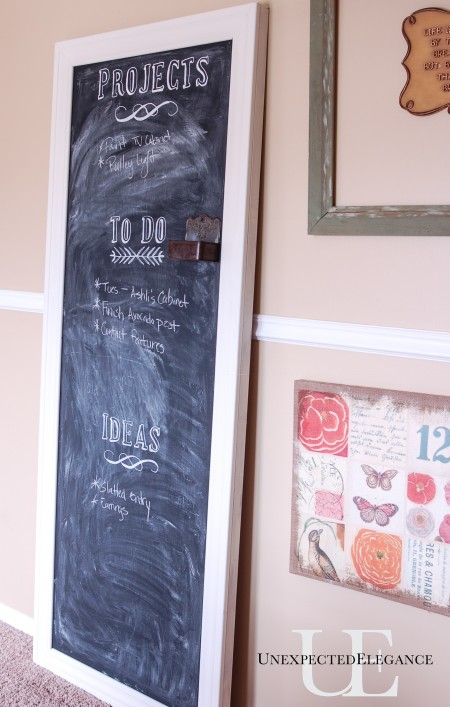 DIY ChalkboardTutorial at Unexpected Elegance (1 of 1)