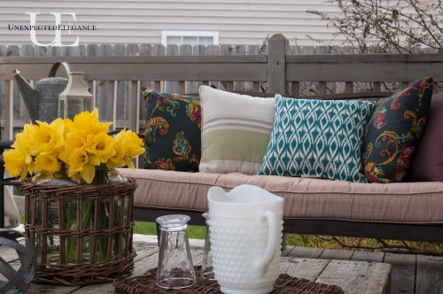 Deck update at Unexpected Elegance (1 of 1)