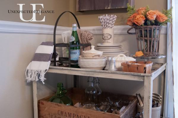 Industrial Cart turned Serving Cart via Unexpected Elegance (1 of 1)-9