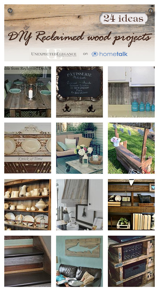 Reclaimed Wood Collection from Unexpected Elegance and Hometalk