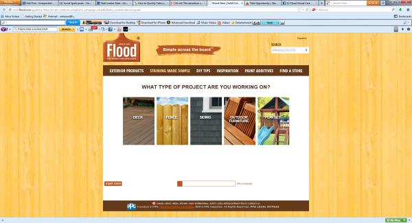 Flood Stain