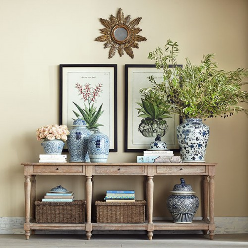 Charmant Wisteria Console · Â World Market Everett Foyer Table: $299