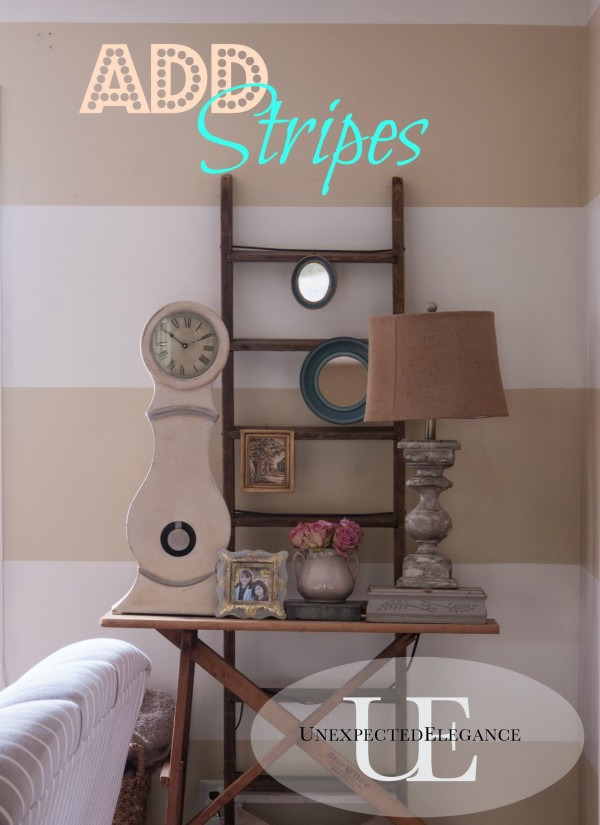 How to Add Horizontal Stripes to Any Room