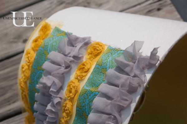 How to Add Ruffles to a Lamp Shade (1 of 1)-2
