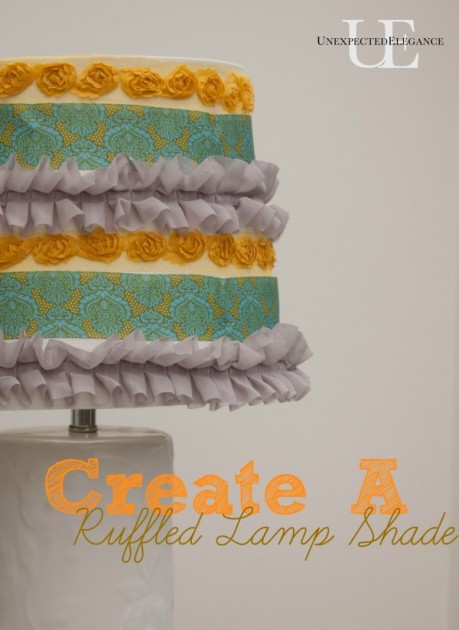 How to Add Ruffles to a Lamp Shade (1 of 1)-5