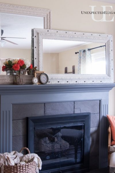 How To Add Depth To A Shallow Mantel