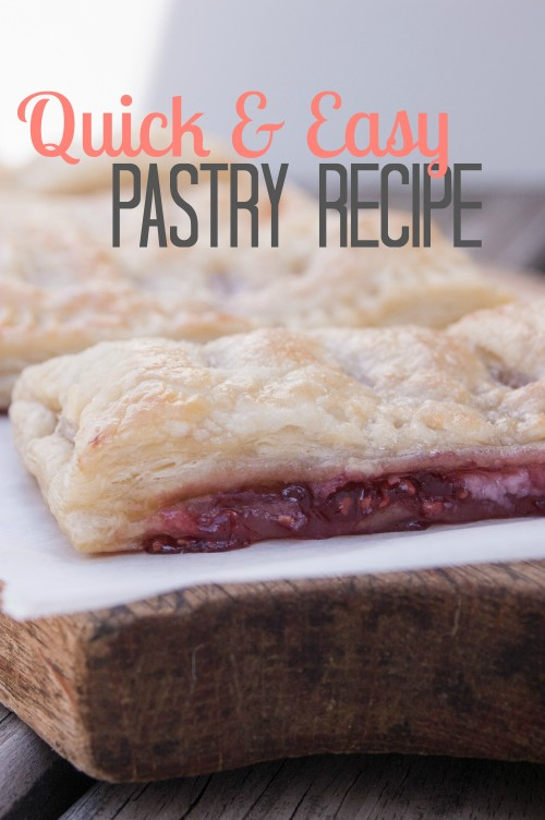 Quick and Easy  Pastry Recipe from Unexpected Elegance