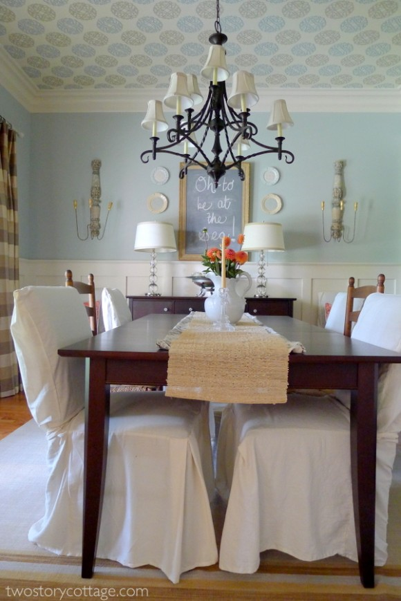 Two Story Cottage Dining Room