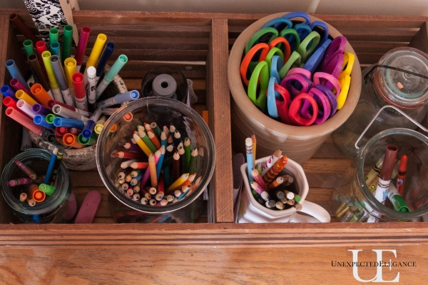 tips to Organize Craft Supplies for Kids (1 of 1)