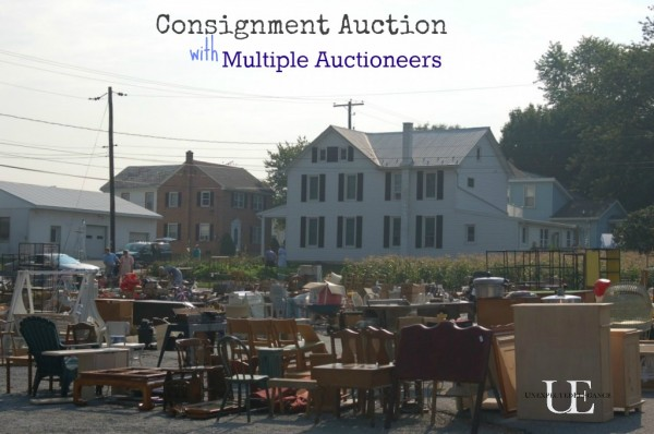 Consignment Auction with Multiple Auctioneers