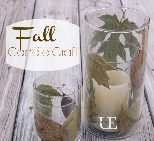 Fall Candle Craft Tutorial