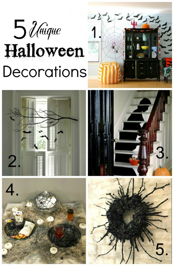 5 Unique Halloween Party Decorations