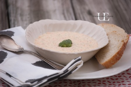Broccoli Cheddar Soup Recipe (1 of 1)