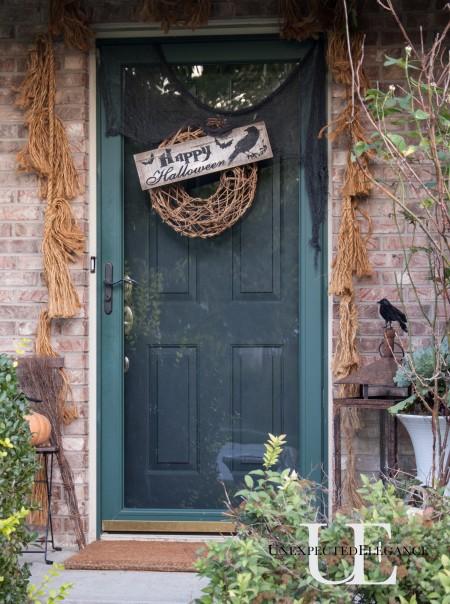 Halloweeen Porch at Unexpected Elegance (1 of 1)-15