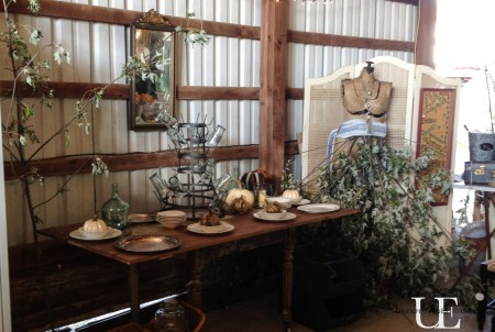 Unexpected Elegance Booth at ReStyled Barn Sale (1 of 1)-6