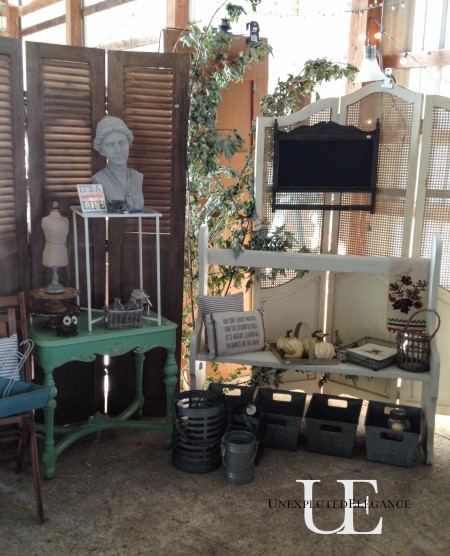 Unexpected Elegance Booth at ReStyled Barn Sale (1 of 1)-9