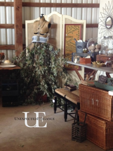 Unexpected Elegance Booth at ReStyled Barn Sale 2013 (1 of 1)-2