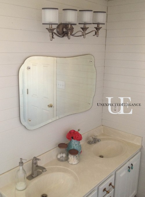 Bathroom Makeover from Unexpected Elegance