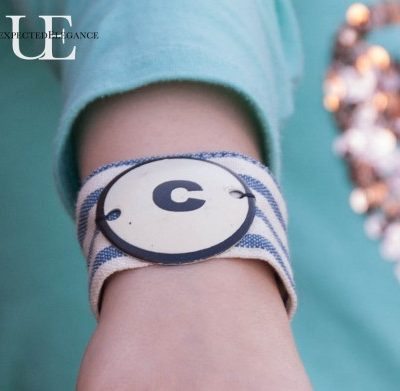 Handmade Gifts: Girls Bracelet from a Napkin Ring