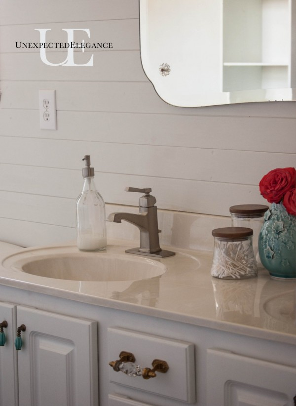 Master Bathroom Makeover from Unexpected Elegance