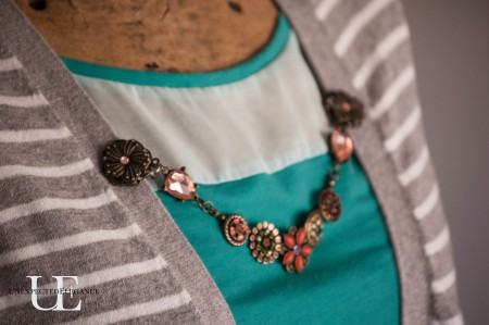 How to Make a Cardigan Chain. Great for Gift Giving-1-2