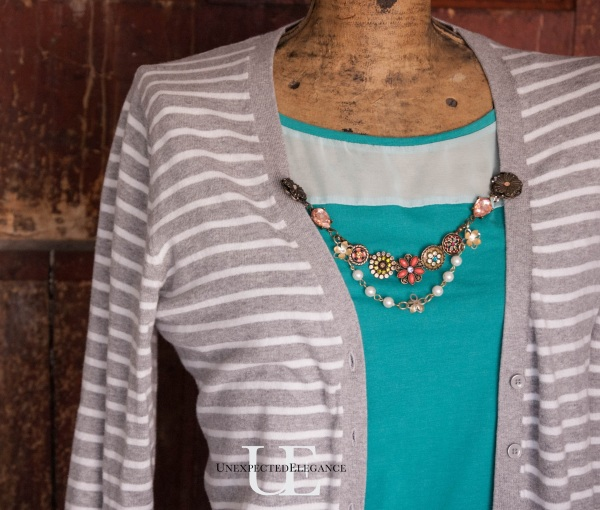 How to Make a Cardigan Chain. Great for Gift Giving