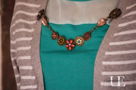 How to Make a Cardigan Chain. Great for Gift Giving-1-5