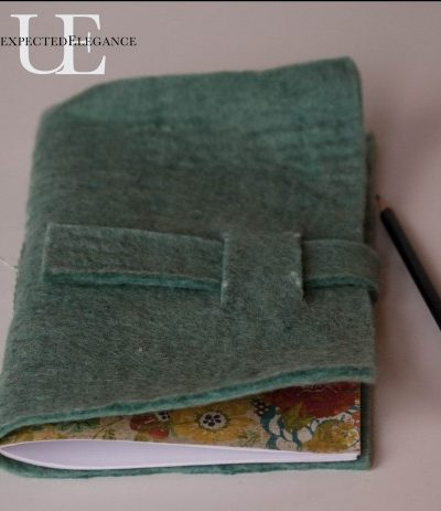 Handmade Gift: Felt Journal