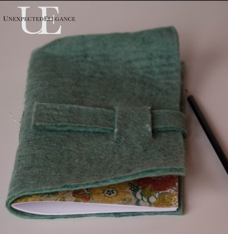 How to make a Felt Journal. Great for gift giving!-1-13