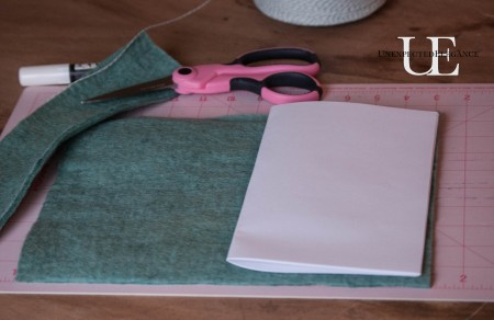 How to make a Felt Journal. Great for gift giving!-1