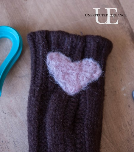 How to make easy Fingerless Mittens