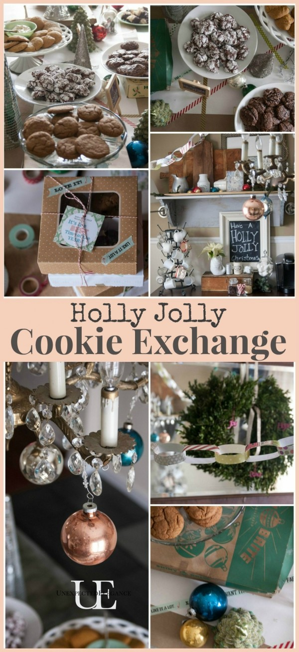 Holly Jolly Cookie Exchange with Free Printables #ButterHoliday #shop #cbias