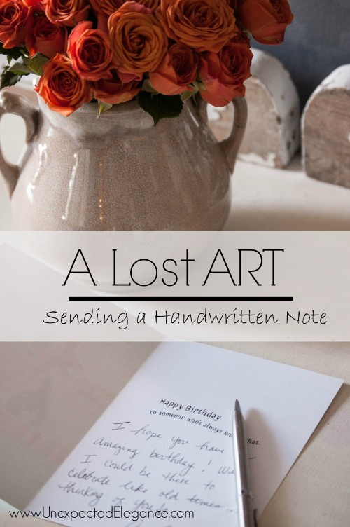 The Lost Art of Sending a Handwritten Note #ValueCards, #shop, #cbias
