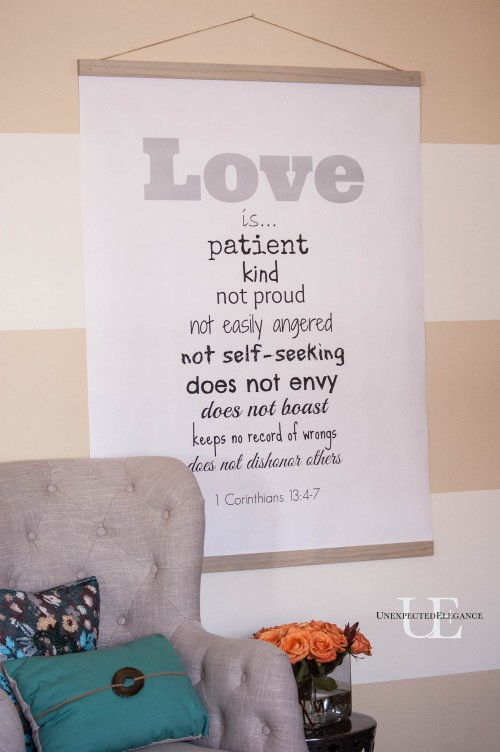 DIY LOVE Chart with Free Printable and Instructions-1-12