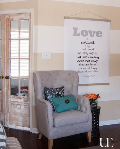 DIY LOVE Chart with Free Printable and Instructions-1-8