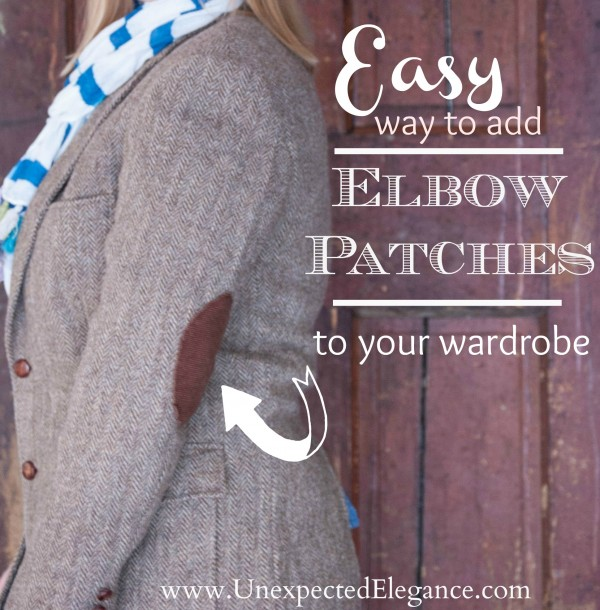 Easy way to add elbow patches to your wardrobe unexpected elegance tutorial for adding easy elbow patches to your wardrobe from unexpected elegance maxwellsz